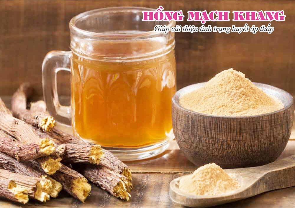 Uống trà cam thảo là mẹo chữa tụt huyết áp đơn giản, hiệu quả